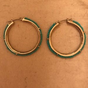 EUC Francesca's hoop earrings